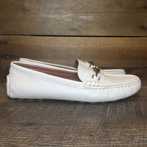NEW Women's COACH Crosby Driver Flats